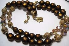 vintage VENDOME Beads Necklace double strand