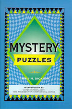 Mystery Puzzles by Chris Dickson (Paperback, 1999)
