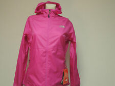 North Face womans FLYWEIGHT HOODIE in azalea pink medium STOWABLE NWT