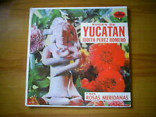 JUDITH PEREZ ROMERO Voces of Yucatan vol 2 MEXICAN LP DIMSA