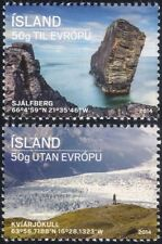 Iceland 2014 Glaciers/Mountains/Views/Rock Formation/Environment 2v set (is1022)
