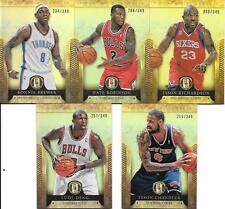 2012-13 Panini Gold Standard Nice (5) Card Lot    See List & Scan   Combined s/h