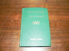 Vintage Norfolk and Western Railway Company Safety Rules Booklet~August 1, 1974
