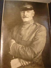 Extremely Rare School Of Aerial Photography Thanksgiving 1918 Menu Rochester NY