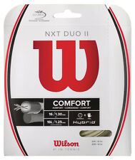 WILSON NXT DUO II Hybrid Tennis Stringa Set