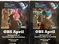 Ocala Breeder's Sale April 2014. Two Year Olds in Training. 2 Volume Catalog.