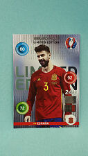 Panini Adrenalyn XL Euro 2016  Gerad Pique - Classic Limited Edition EM