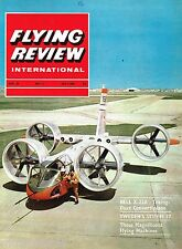 FLYING REVIEW INT JUL 65: SPECIAL SWEDISH FOCUS/ BELL X-22/ MARTIN 123/ LeO 45