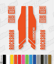 RockShox Boxxer 2013 Style Decals / Stickers - Custom / Fluorescent Colours