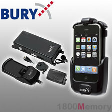 Bury S8 System 8 Complete Bluetooth Hands-Free Car Kit for Apple iPhone 3G 3GS