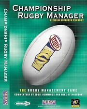 Super League Championship Rugby Manager Game Midas Interactive PC