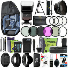 Everything You Need Accessory Kit for Canon EOS Rebel T6i / 750D - 58MM