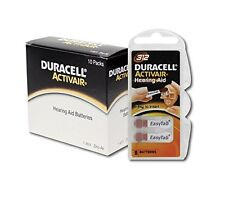 Duracell Activair Hearing Aid Batteries Size 312 (80)