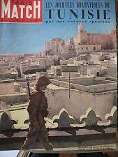 PARIS MATCH N° 0160 TUNISIE MEDINA HAUTECLOCQUE PINAY FINANCES MAX LINDER 1952