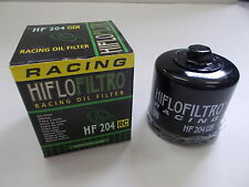 HIFLO FILTRO OLIO HF204RC Yamaha Motorcycle FJR1300 AS Automatic ABS1MD 2013