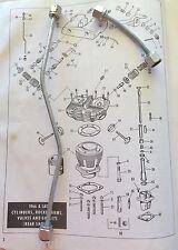 Harley Shovelhead Rocker Box Oil Lines 66-84 FL FLH OEM# 62783-66 62785-66 Cad