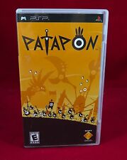 PSP - Patapon - PlayStation Portable COMPLETE! Black Label - PS3 insert