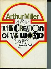 Arthur Miller Zoe Caldwell Bob Dishy The Creation Of the World Signed 1st Book