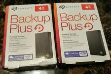 NEW Seagate Backup Plus 4TB Portable External Hard Drive w/ 200GB Cloud Storage