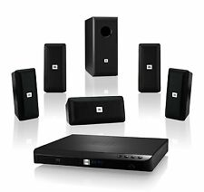 JBL BD100 Complete 5.1-Channel 3D Blu-ray Disc Integrated Home Theater System