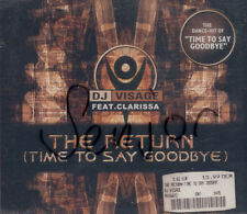 D J  VISAGE fest Clarissa - The Return (Time to say Goodbye) - MCD Guter Zustand