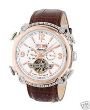 Ingersoll Men's IN4505RWH Montgomery Analog Display Automatic Self Wind Brown Wa