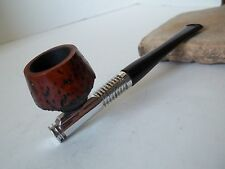 VINTAGE MODIFIED  METAL ALUMINUM RADIATOR ESTATE PIPE  BRIAR BOWL  NICE!