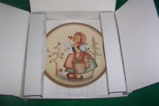 "Hummel Plate ""Friends Forever"" 1989  ""Meditation""  MIB"
