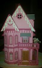 Assembled  Villa Wooden dollhouse  1/24 ,all furnitures included