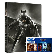 XBOX One gioco Batman Arkham Knight SPECIAL Steelbook Edition Incl. HARLEY Q NUOVO