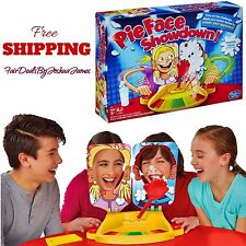 Pie Face Showdown Family Fun Game Holiday Gift Kids Splat in the Face HASBRO NEW