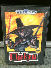 Chakan Sega Genesis Video Game16 Bit Cartridge 1992 In Case Single Player Gamer