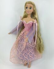 "Disney Store 17"" Singing Rapunzel Tangled Doll"