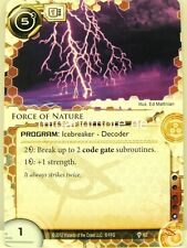 Android Netrunner LCG - 1x Force of Nature  #062 - A Study in Static