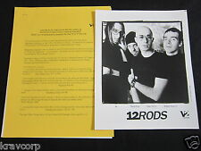 12 RODS 'SEPARATION ANXIETY' 2000 PRESS KIT--PHOTO