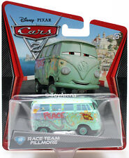 Disney Pixar Cars 2 Movie #14 Fillmore Race Team Mattel Die Cast Toy