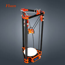 FLSUN Diy 3d Metal Printer Delta 3D Printer Kit with 80m Filament and Heated Bed