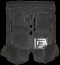 Autoteppich, Innenteppich, Formteppich für Fiat 500 F L R schwarz Velours