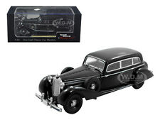1938 MERCEDES 770K SEDAN PULLMAN BLACK 1/43 MODEL CAR BY SIGNATURE MODELS 43701