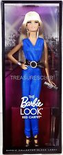 The Barbie Look Red Carpet Blue Jumpsuit Doll Black Label #BCP90 New NRFB 2013
