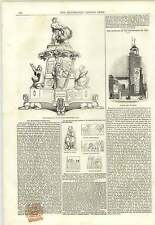 1843 Mortlake Church The Montefiore Testimonial