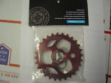 Fit Tri 28T RED BMX Sprocket 28 Tooth Fit bike co Dirt Jump Street Park S&M