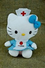 TY Sanrio Hello Kitty I Love Japan Red Cross Nurse Tsunami Plush Stuffed P44