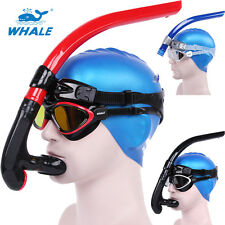 WHALE 4 Colors Diving Snorkeling Swimming Scuba Tube Breath Center Snorkel US300