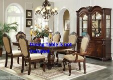 New Royal Formal Dining room Traditional Dining Chairs Espresso Furniture Chair