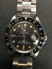 Rolex GMT RARE Patina Dial, Unpolished, All Original. Original Scratches.