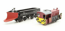 BRAWA HO GAUGE 460 DB Ko 6002 LOCOMOTIVE PLUS LILIPUT SNOW PLOW WAGON (T11)