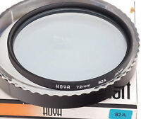 HOYA 72mm 82A Coated Both Sides + Case - Boxed - ===Mint===