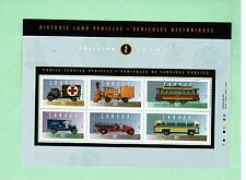 1994 FEUILLET TIMBRES CANADA STAMPS  SHEET  ( Mn)  # 1527  ** VEHICULES  2  L950