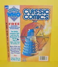 Vintage Doctor Who Issue #6 April  28th 1993 Very Good Condition